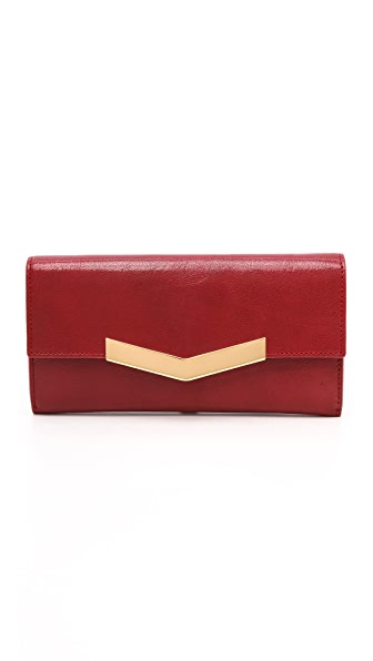 Time's Arrow Chevron Wallet