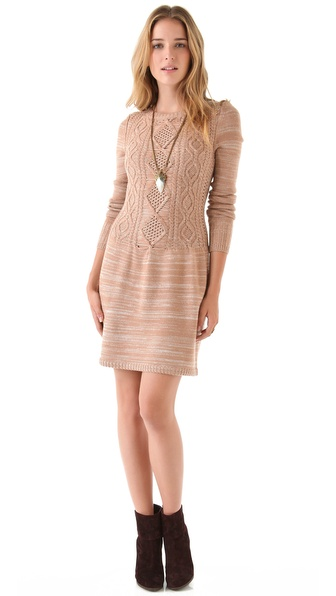 Timo Weiland Cable Top Knit Dress