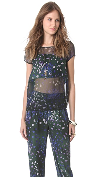 Timo Weiland Ana Contrast Tee