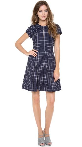 Timo Weiland Antonia Cap Sleeve Dress