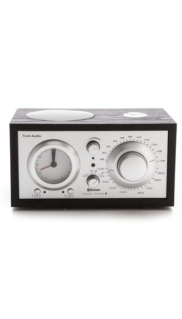 Tivoli Audio Model Three Bluetooth Clock Radio