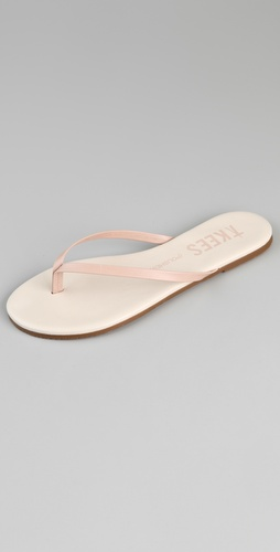 TKEES Polishes 2 Tone Thong Sandals