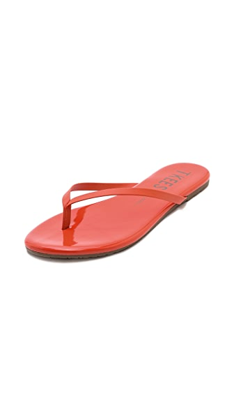 TKEES Lip Glosses Flip Flops