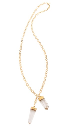 T. Kilburn Duet Crystal Necklace