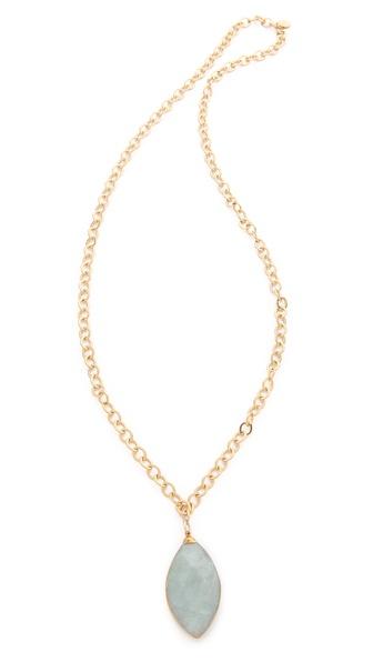 T. Kilburn Double Sided Quartz Necklace