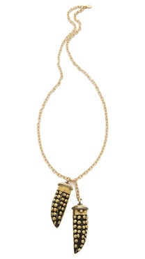 T. Kilburn Stud Horn Duet Necklace