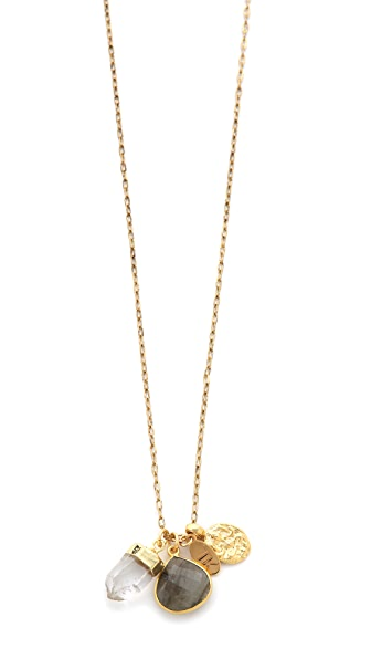 T. Kilburn Cluster Charm Necklace