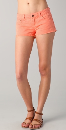 Tigerlily Overdyed Carranza Denim Shorts