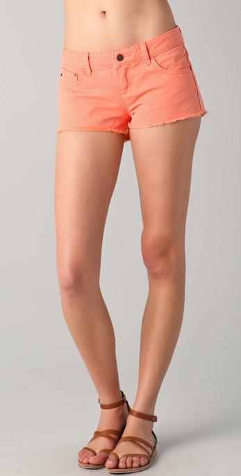 Tigerlily Overdyed Carranza Denim Shorts