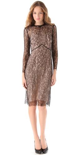 Tocca Violet Lace Dress