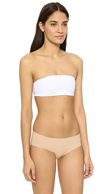 Top Secret 背部性感蕾丝设计裹胸