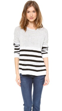 Top Secret Naples Striped Sweater