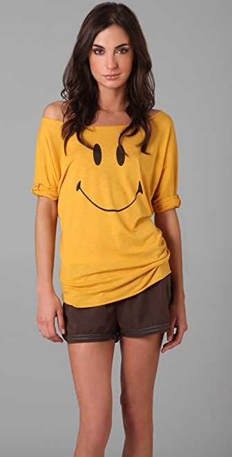 Burning Torch North Shore Smiley Face Top