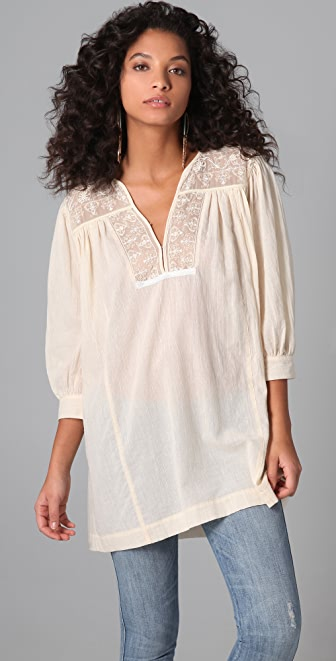 Burning Torch Marrakesh Tunic