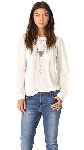 Burning Torch Helena Blouse
