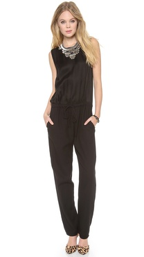 Burning Torch Black Sun Jumpsuit