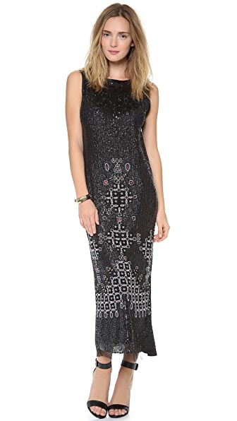 Burning Torch Twiggy Dress