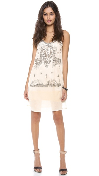 Burning Torch Rella Sun Embellished Dress