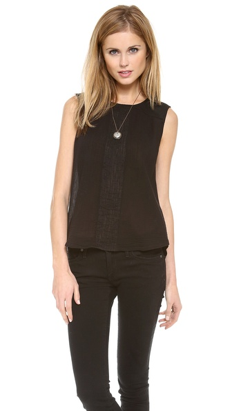 Burning Torch Basalt Blouse