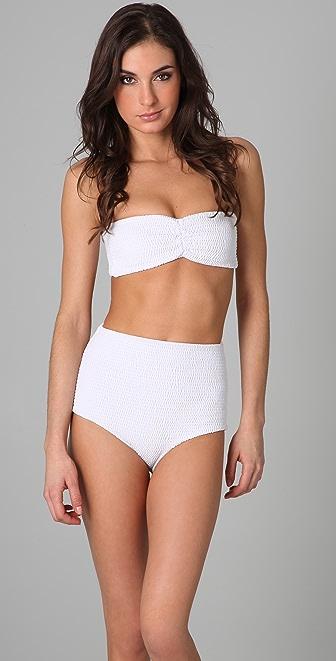 Tori Praver Swimwear Betty Bandeau Bikini Top