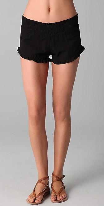 Tori Praver Swimwear Gaia Shortie Shorts