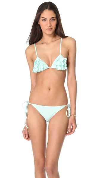 Tori Praver Swimwear Sage Bikini Top
