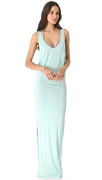 Tori Praver Swimwear Cover Up Maxi Dress