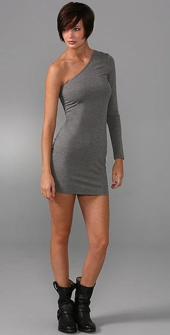Torn by Ronny Kobo Short One Shoulder Dress