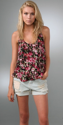 Torn by Ronny Kobo Tracy Roses Tank