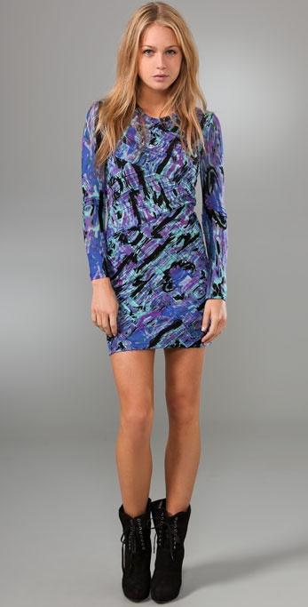 Torn by Ronny Kobo Tara Cosmic Dress