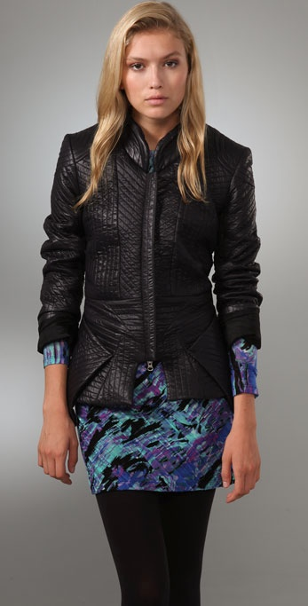 Torn by Ronny Kobo Selma Quilted Jacket