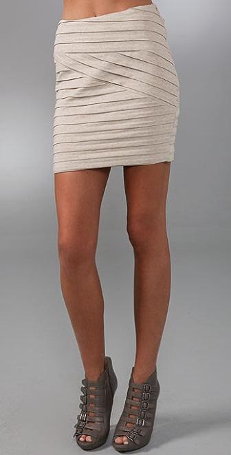 Torn by Ronny Kobo Mary Pleated Skirt