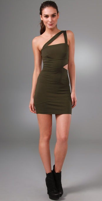 Torn by Ronny Kobo Joanna Cutout Dress