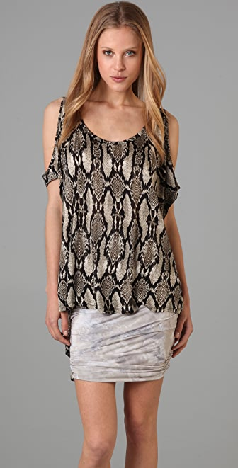Torn by Ronny Kobo Camila Cutout Top