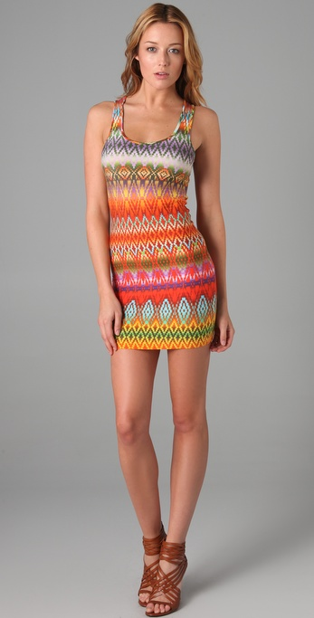 Torn by Ronny Kobo Sammy Printed Dress
