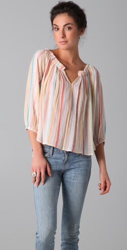 Torn by Ronny Kobo Isabel Nomad Stripes Blouse