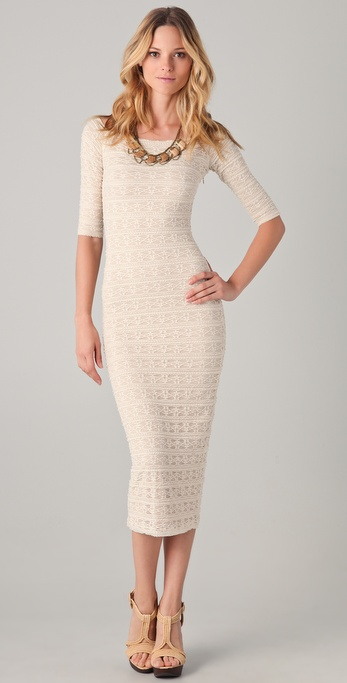 Torn by Ronny Kobo Eva Lace Maxi Dress