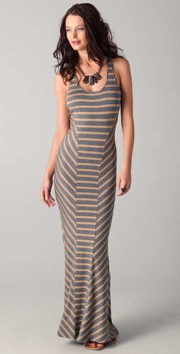 Torn by Ronny Kobo Amalia Striped Siren Dress