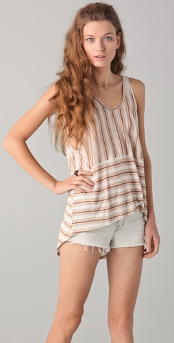 Torn by Ronny Kobo Kayla Stripes Tank