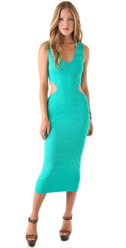 Torn by Ronny Kobo Alexa Midi Dress