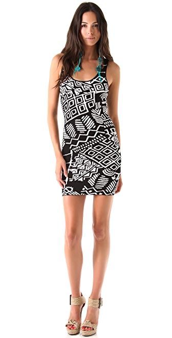 Torn by Ronny Kobo Sammy Tribal Knit Dress