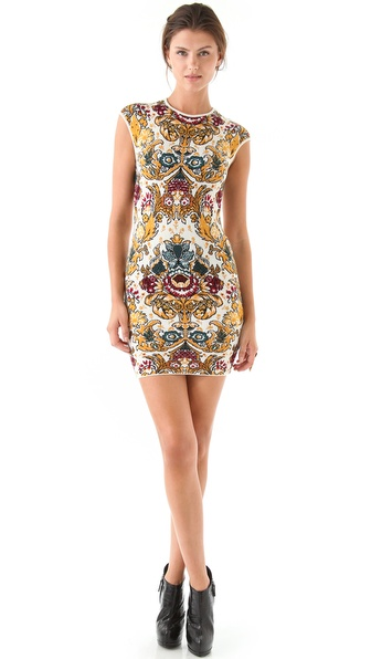 Torn by Ronny Kobo Victoria Parisian Folklore Dress