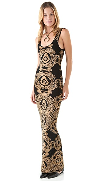Torn by Ronny Kobo Amelie Maxi Dress