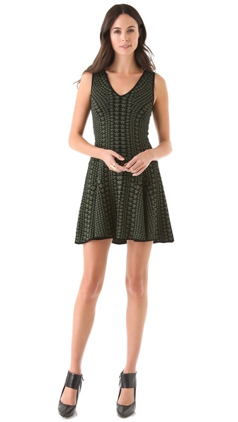 Torn by Ronny Kobo Samantha Dress with Stars