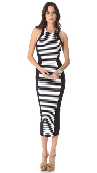 Torn by Ronny Kobo Shiran Maxi Dress