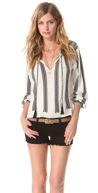 Torn by Ronny Kobo Madeleine Knit Top
