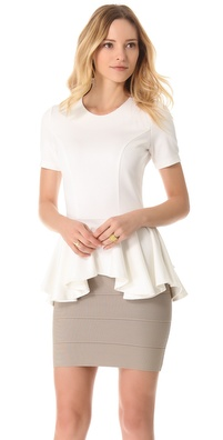 Torn by Ronny Kobo Judy Cap Sleeve Top