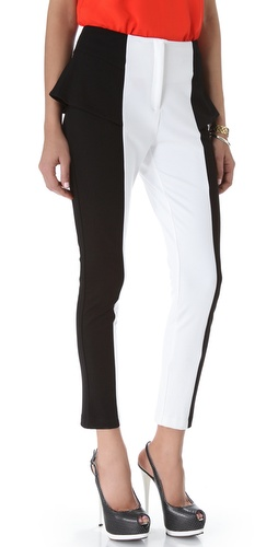 Torn by Ronny Kobo Pola Colorblock Pants
