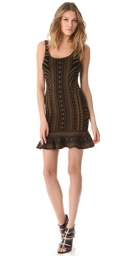 Torn by Ronny Kobo Michaela Tribal Dress