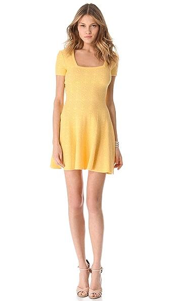 Torn by Ronny Kobo Pamela Blanket Stitch Dress